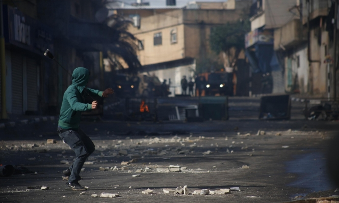 طولكرم: إصابات وحالات اختناق إثر المواجهات مع قوات الاحتلال