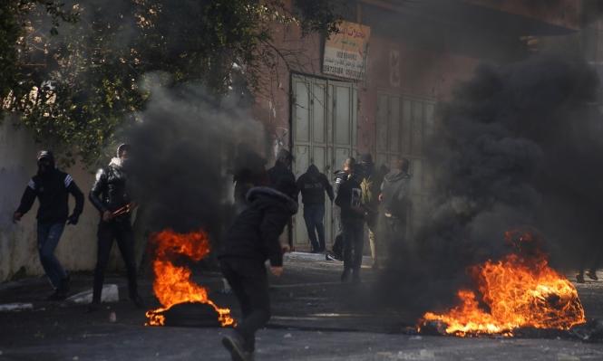 مواجهات وإصابات في العروب واعتداءات للمستوطنين في جنين