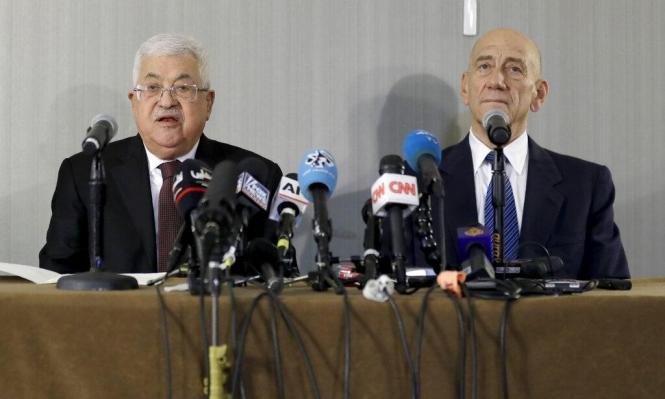 عباس: مستعد لاستكمال المفاوضات من حيث انتهت مع أولمرت