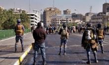 إصابة 17 متظاهرا عراقيا في مواجهات مع قوات الأمن