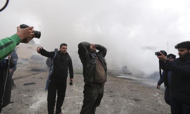 سورية: 4 قتلى مدنيين بقصف روسي ومقتل جندي سوري بقصف أميركي