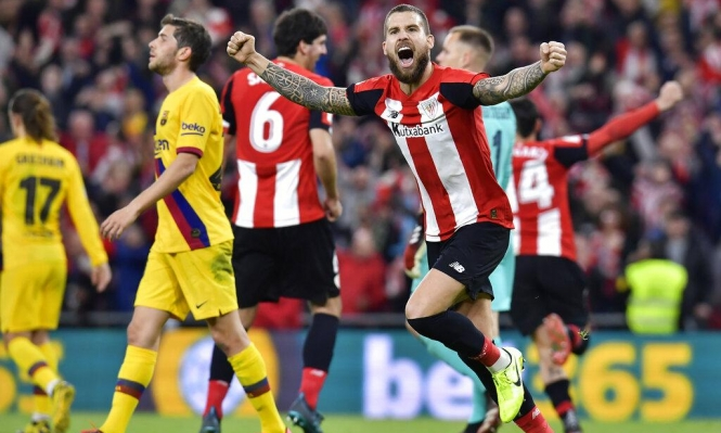 بلباو يأخذ خطوة نحو نهائي الكأس الأسباني