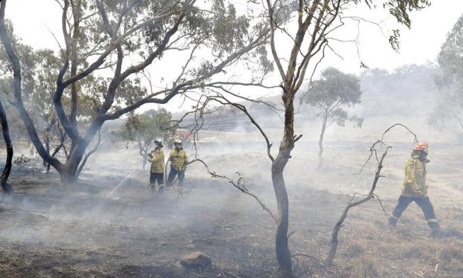 بداية نهاية الحرائق الأسترالية