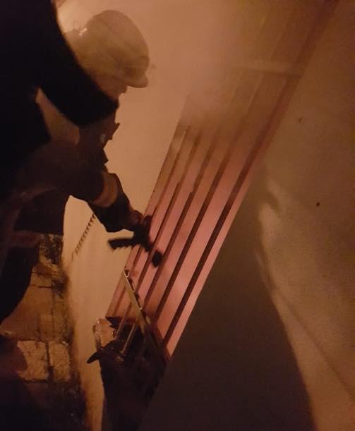يافة الناصرة: حريق في المركز الجماهيري