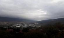 حالة الطقس: غائم جزئي ومعتدل نهارا وبارد ليلا