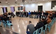 كفر مندا: جلسة طارئة لبحث سبل التصدي للعنف والجريمة