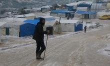 مخيمات النازحين في شمال سورية ترزح تحت الثلج والبرد