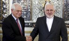 ظريف يبحث الاتفاق النووي مع الاتحاد الأوروبي