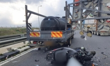 مصرع سائق دراجة نارية بحادث طرق قرب القدس