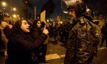 إيران: الأمن يفضّ مظاهرة طلابية ويوقف مشاركين بها