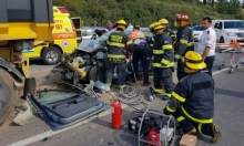 إصابة امرأة في حادث طرق بوادي عارة