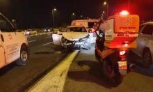 3 إصابات بينها حرجة بحادث طرق قرب الجش