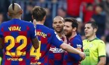سوبر هاتريك لميسي: برشلونة يسحق إيبار بخماسية