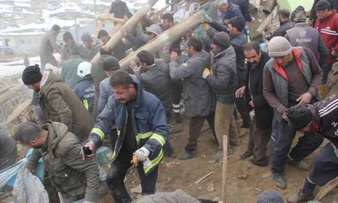قتلى وجرحى بزلزال ضرب الحدود التركية الإيرانية