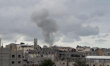 غارات للاحتلال على غزة ورشقات صاروخية باتجاه الجنوب