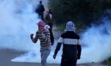 إصابتان برصاص الاحتلال في الضفة