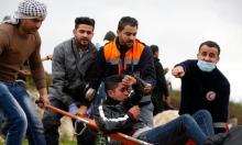 56 إصابة إثر مواجهات مع جيش الاحتلال في الأغوار الشمالية