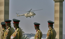 تشييع عسكري للرئيس المصري المخلوع مبارك