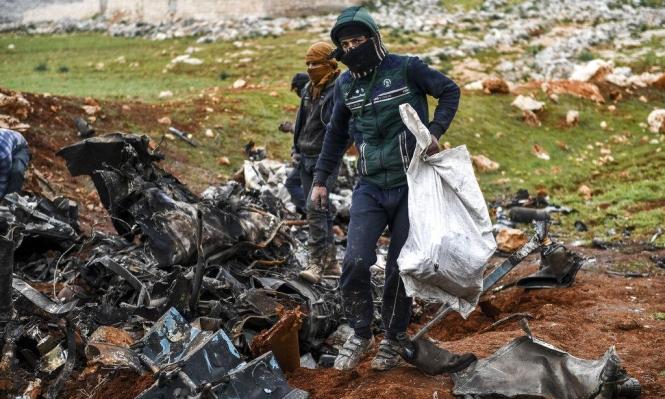 إدلب: 4 قتلى مدنيين بغارة روسية