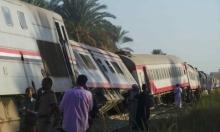 مصر: 24 مُصابا إثر خروج قطار عن مساره