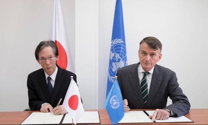 """اليابان تتبرع بأكثر من 22 مليون دولار لصالح """"الأونروا"""""""