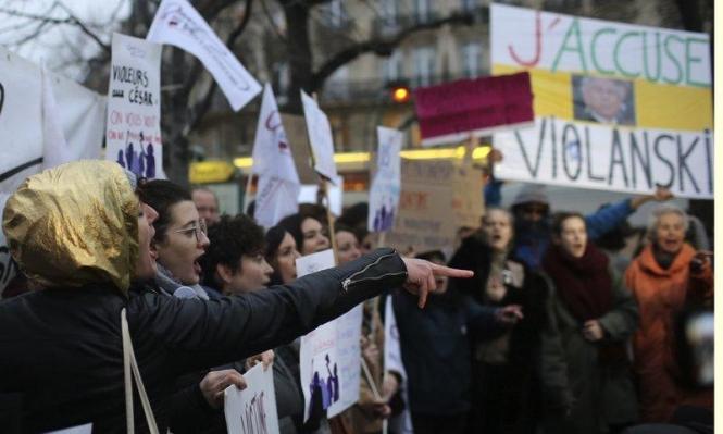 """مظاهرات ضد فوز متهم بالاغتصاب بجائزة """"سيزار"""" كأفضل مخرج"""