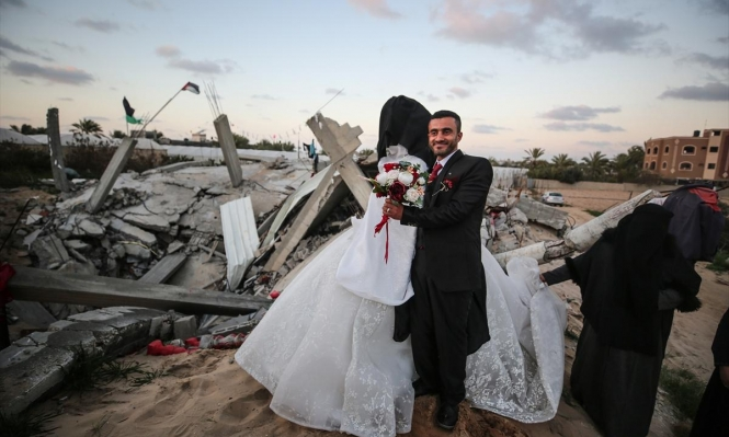 غزة: فرحٌ فوق أنقاض الاحتلال