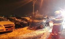 اندلاع حريق بسيارتين في الناصرة