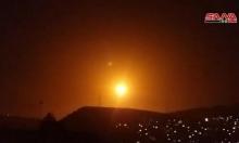 عدوان إسرائيلي على أهداف في سورية