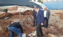 حفريات وتنقيب في مقبرة السرايا الإسلامية التاريخية بصفد