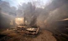 غزة: تشييع جثامين ضحايا حريق النصيرات