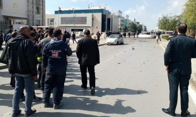 تونس: قتيلان و6 جرحى بتفجير انتحاري قرب السفارة الأميركية