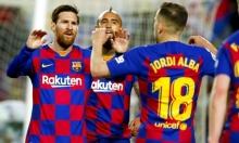 ميسي يقود برشلونة لتخطي عقبة سوسييداد