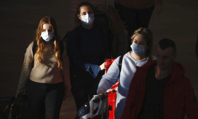 الصحة الإسرائيلية: ارتفاع عدد المصابين بفيروس كورونا إلى 25