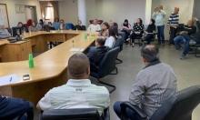 بلدية الطيبة تعقد جلسة طارئة لمواجهة فيروس كورونا