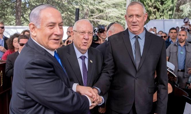 نتنياهو يدعو لحكومة طورائ موحّدة.. غانتس يُبدي استعداده وريفلين يُرحّب