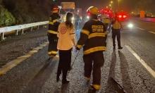 3 إصابات بينها خطيرة في حادث طرق قرب اللد