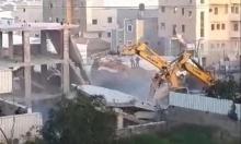 هدم 3 منازل قيد الإنشاء في كفر قاسم