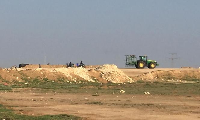 النقب: تدمير وإبادة محاصيل زراعية في وادي النعم
