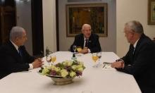 """""""كاحول لافان"""" توافق على بقاء نتنياهو بمنصبه لعام واحد"""