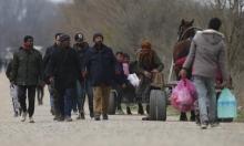 اللاجئون السوريون على الحدود اليونانية يمرّون بمأساة إنسانية