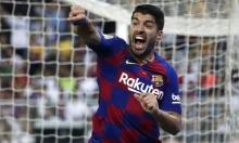 سواريز يزف نبأ سارا لجماهير برشلونة