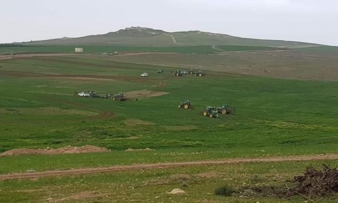 في ظل أزمة كورونا.. جرف وتدمير محاصيل زراعية بالنقب
