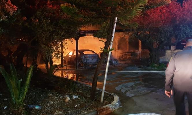 شعب: حريق وأضرار جسيمة إثر إلقاء قنبلتين على منزل