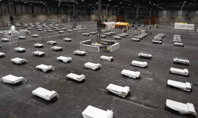 كورونا يحوّل مركز تزلج إلى مشرحة جثث في مدريد