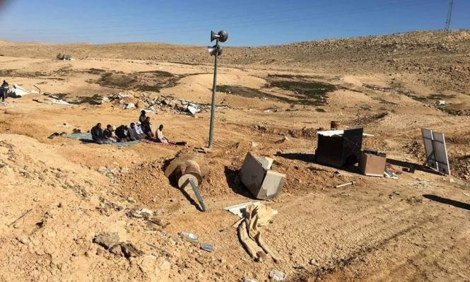 أوامر هدم وإخلاء لمنازل قرية رخمة بالنقب