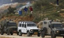 إصابة فلسطيني بنيران الاحتلال شمالي رام الله