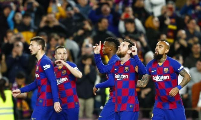 برشلونة يرفض اللعب بدون حضور الجماهير
