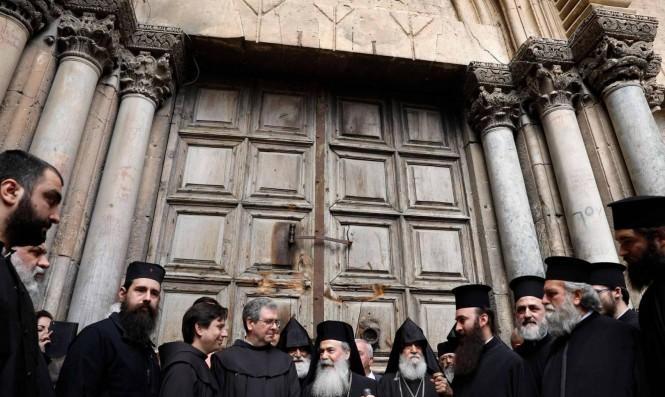 إغلاق كنيسة القيامة في القدس المحتلّة بسبب كورونا