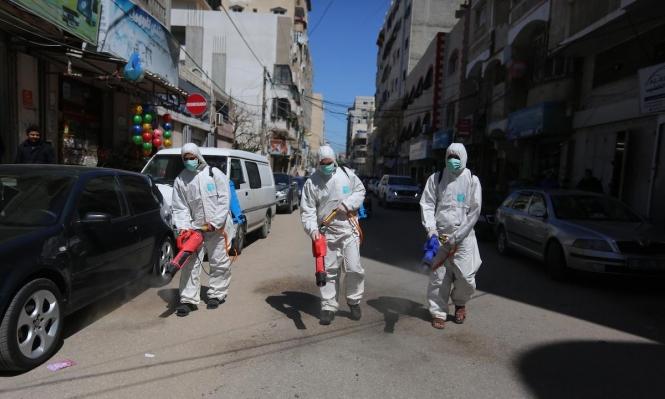 غزة: تسجيل سبع إصابات جديدة بفيروس كورونا